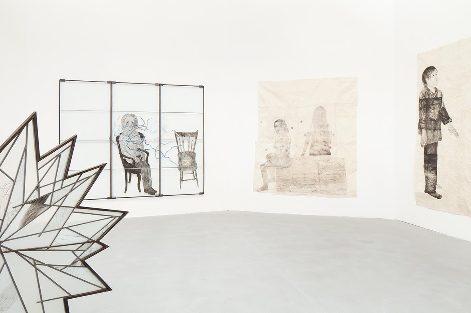 Kiki Smith Various works (2009-2014, installation view) Photo: Francesco Galli