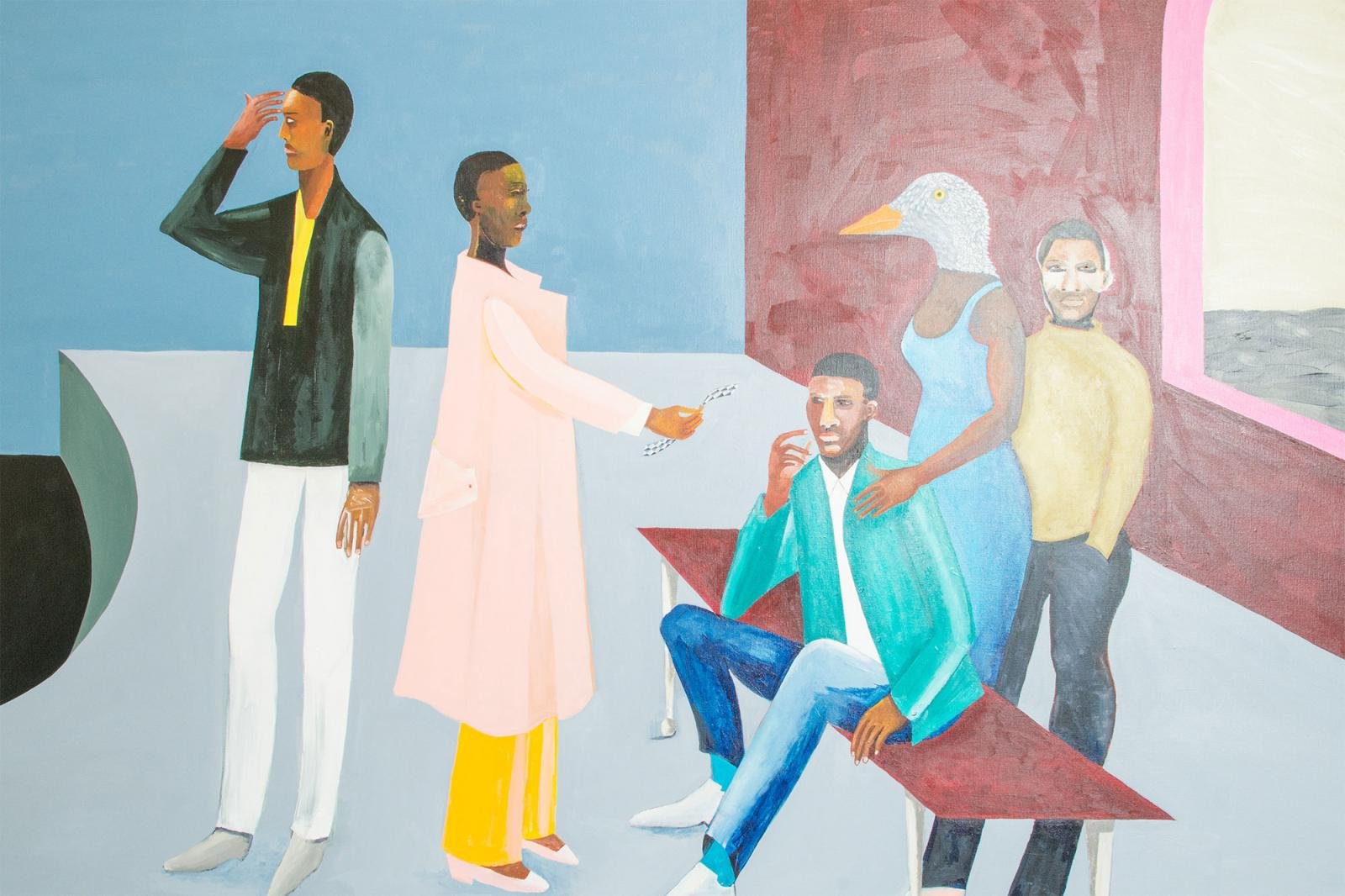 Lubaina Himid at Hollybush Gardens