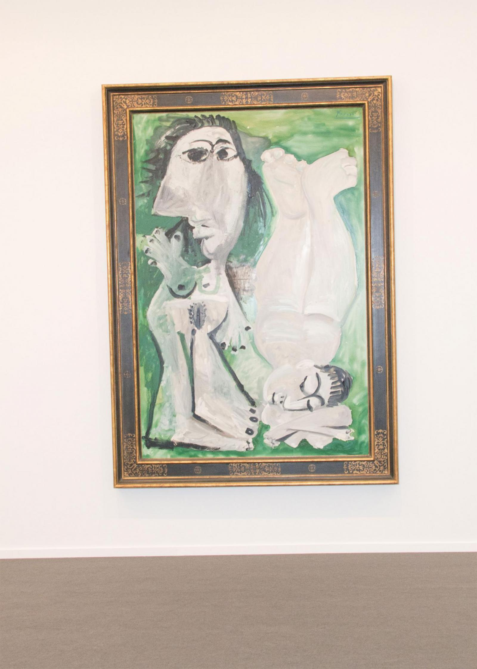 Pablo Picasso at Helly Nahmad