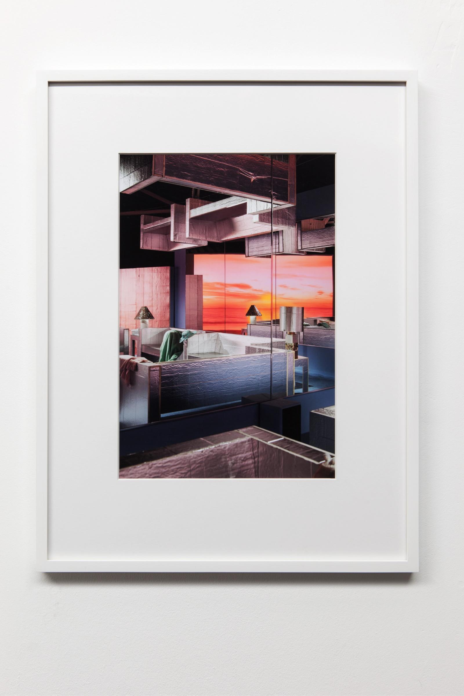 """*Samara Golden,*/""""Mass Murder, blue room #1"""", 2014/"""