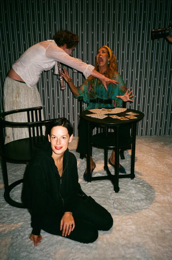 Charim Galerie Wien, curated by Brigitte Huck Anna Jermolaewa, Filmset,/Murderkino/by Scott Cliford Evans, 2019