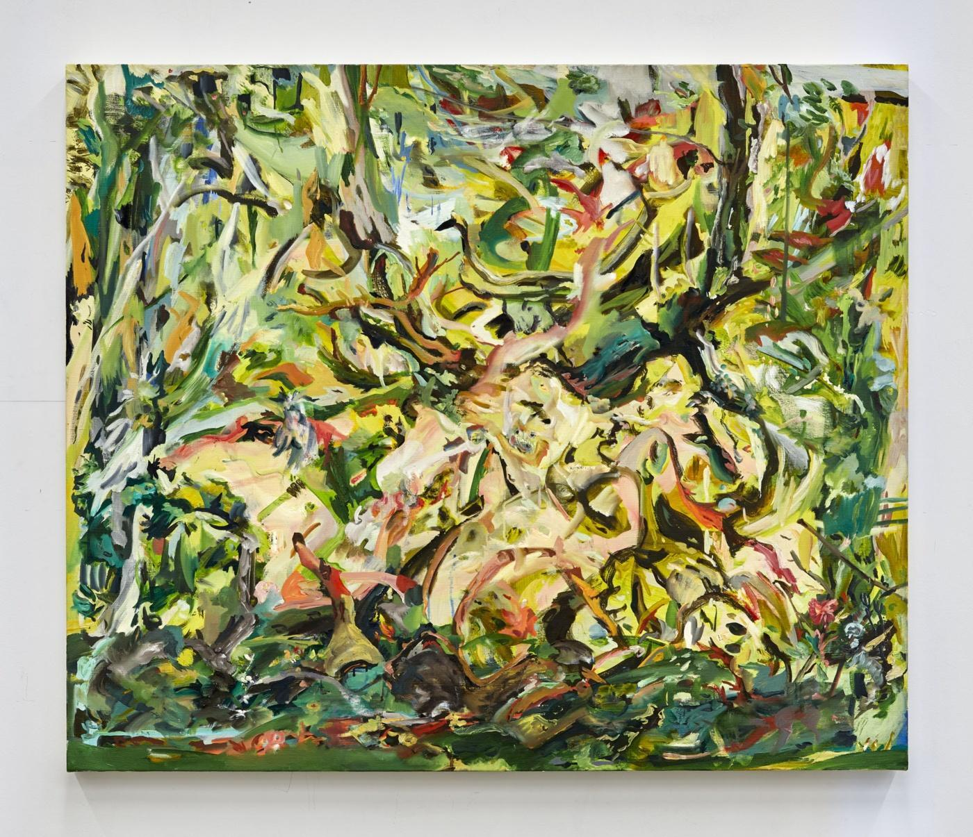 Cecily Brown,/Two Fools in Love/, 2020, oil on linen, 78.7 × 94 cm