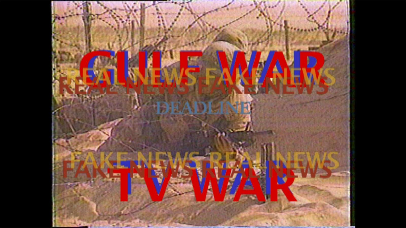 Michel Auder /Gulf War TV War /(1991, edited 2007)