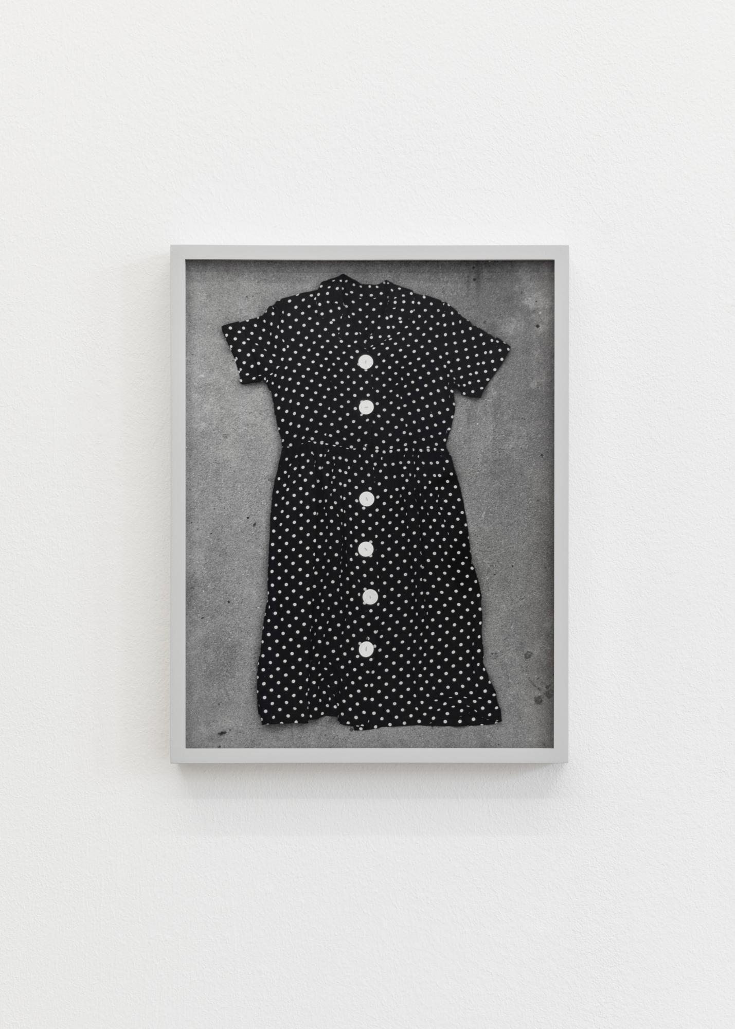 D'Ette Nogle, /Dresses 8/, 1996, framed gelatin silver print,35.2 x 27 cm