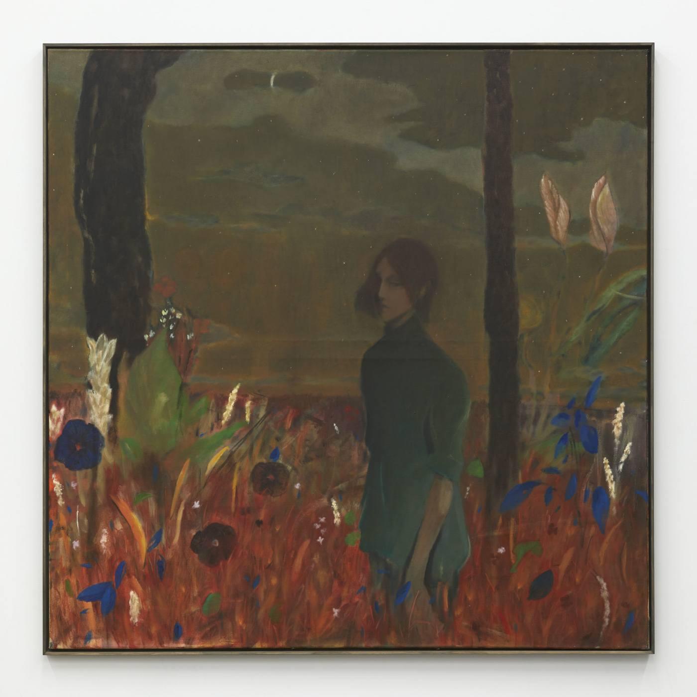 Ernst Yohji Jaeger,/Untitled 3/, 2020, oil on canvas, 125.73 × 125.73 cm