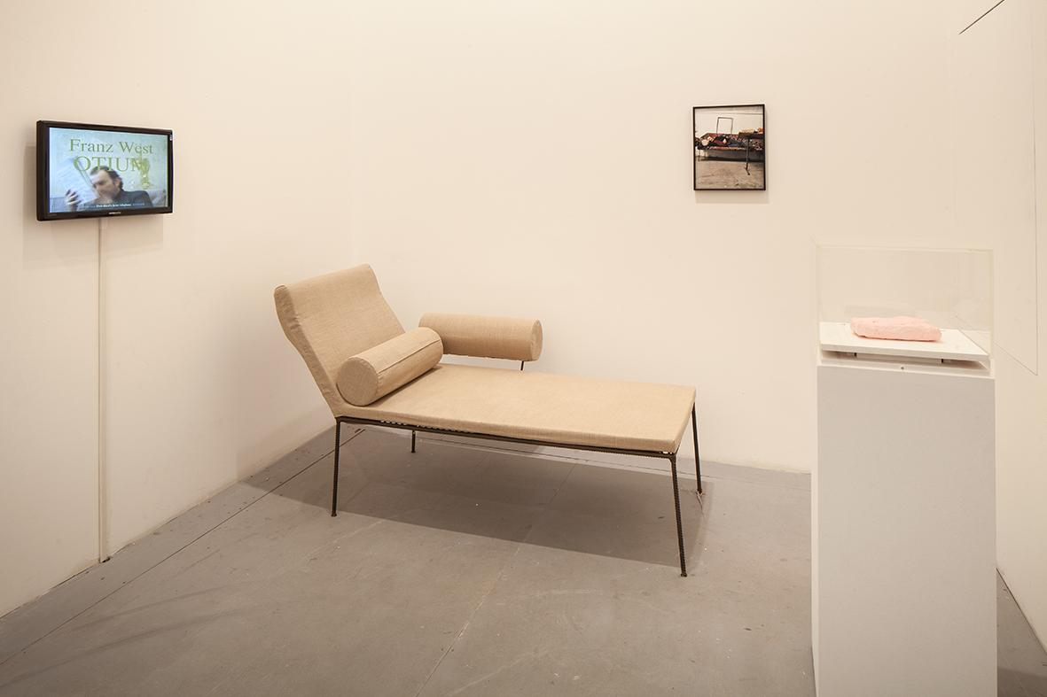 Franz West Various works (1973-1978, installation view) Photo: Francesco Galli