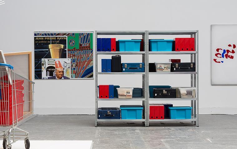 Raymond Hains Various works(1964-2001) Photo: Francesco Galli