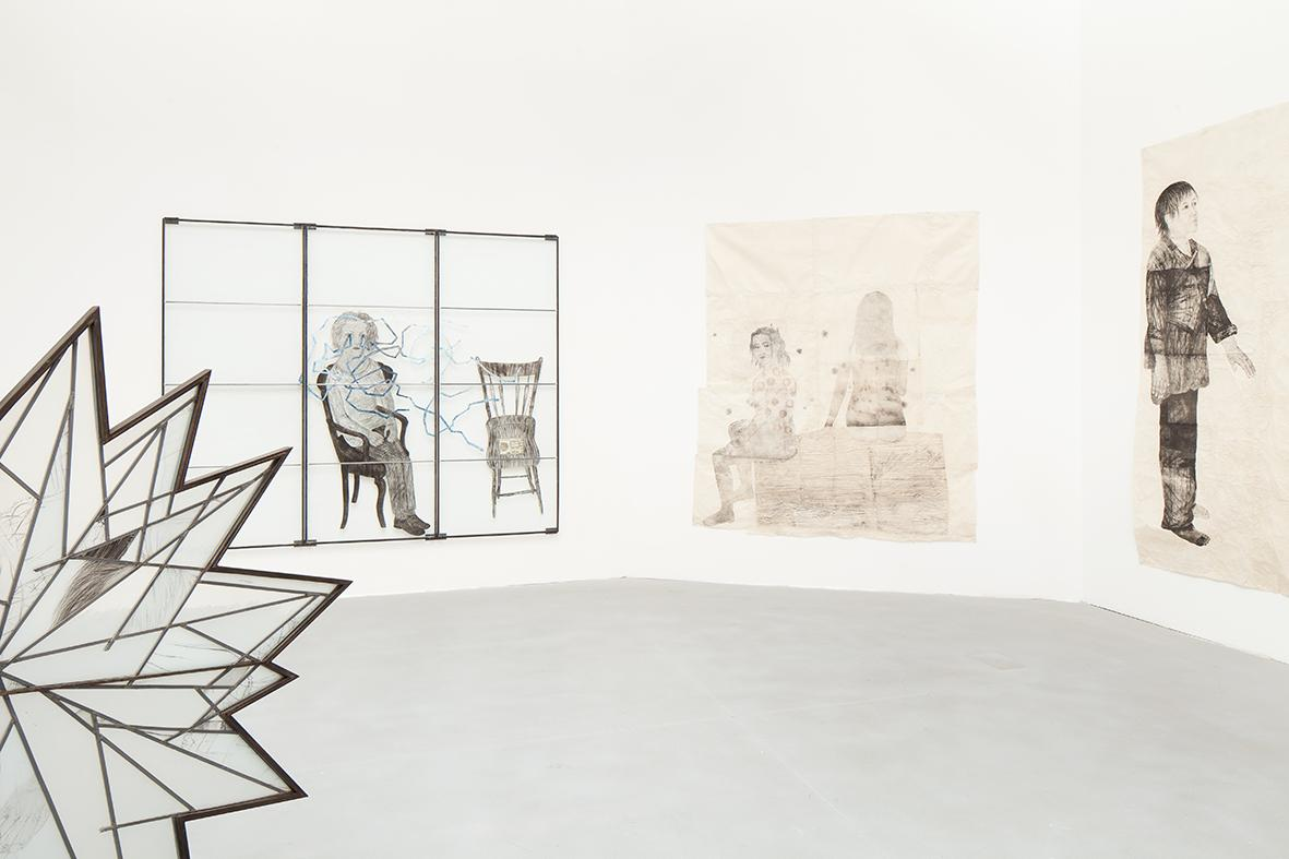 Kiki Smith Various works (2009-2014, installation view) Photo: Francesco Galli