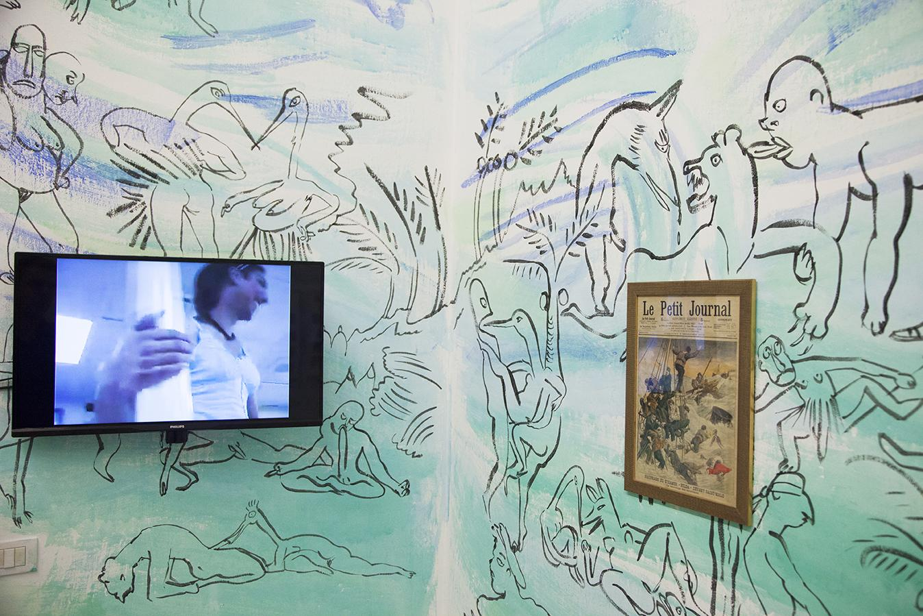 "Installation view ""I Will Go Where I Don't Belong"" Photo:Giovanna Silva Courtesy Fiorucci Art Trust, London"