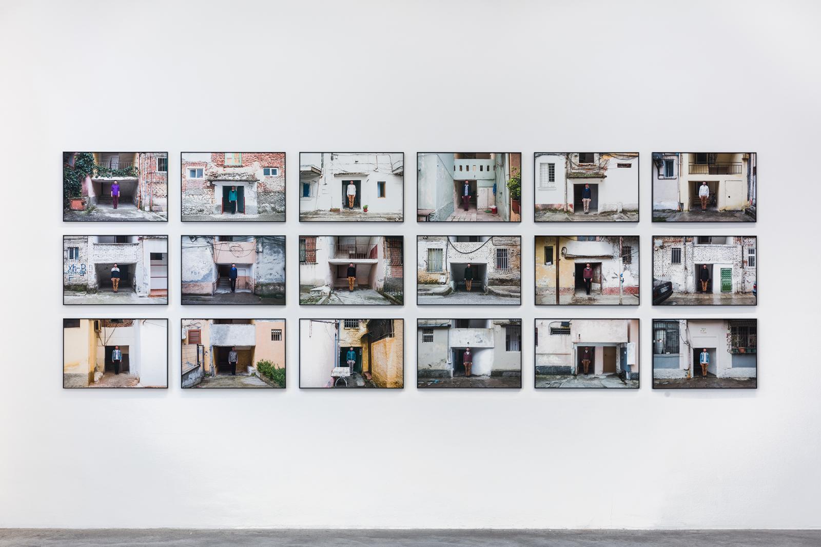 "Galerie Martin Janda, curated by Noit Banai, 2020; Installation view, ""Sedimentations: Brushing History Against the Grain""; Courtesy Galerie Martin Janda, Vienna  Photo:kunst.dokumentation.com / Manuel Carreon Lopez"