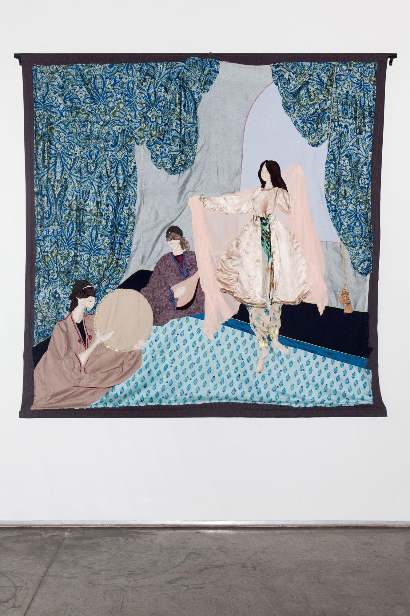 Gallery Isabelle van den Eynde /Raqs, Moorcheh-Dāreh (Dance, Got Ants…) II/byZahra Imani