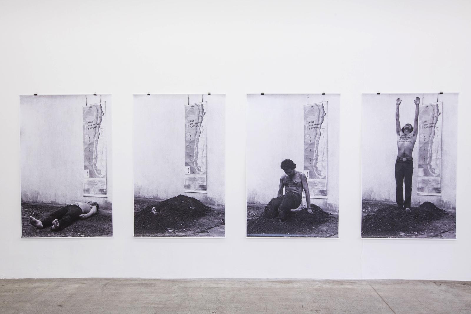 Artwork by Elías Adasme Kerstin Engholm Gallery curated by Heike Munder Photo:eSeL