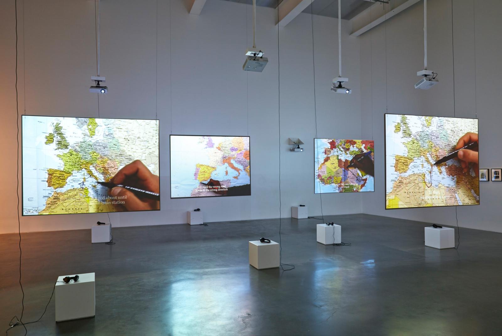 Bouchra Khalili /The Mapping Journey Project/ (2008-2011)