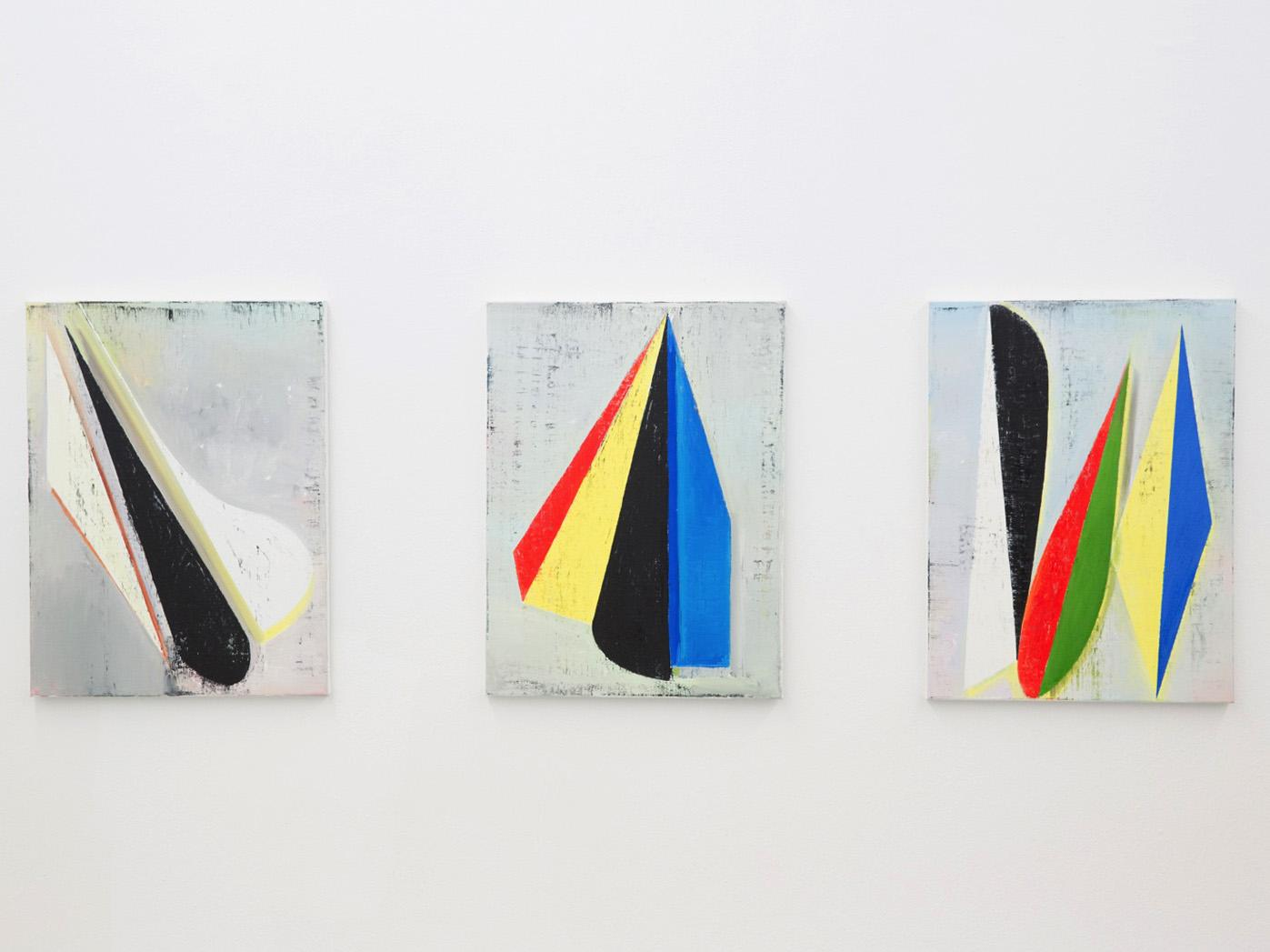 Artworks by Genti Korini Knoll Galerie curated by Edit Sasvari Photo: eSeL