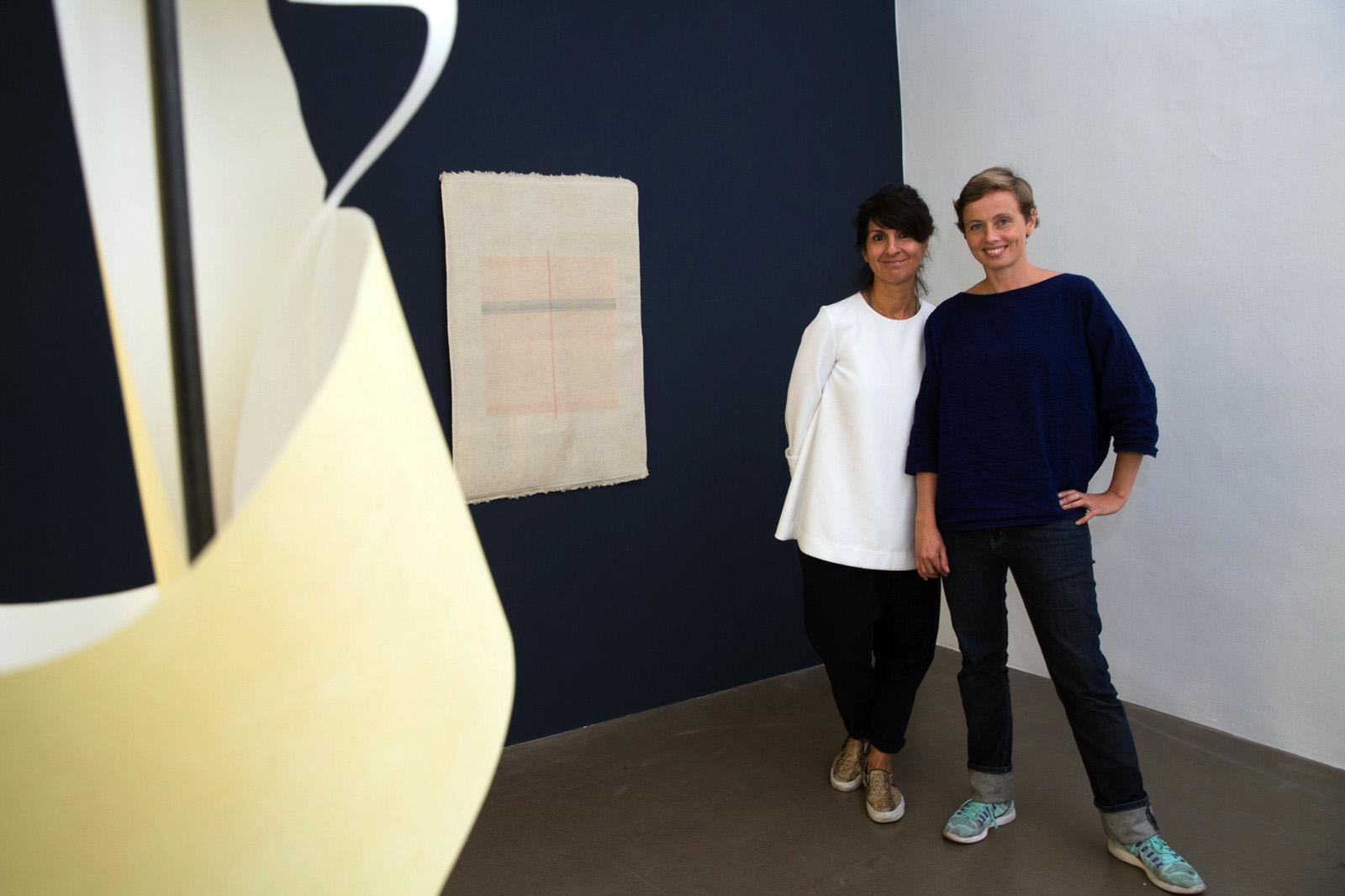 Artists Haleh Redjaian & Sofie Thorsen Krobath Galerie curated byBettina Steinbrügge Photo:eSeL