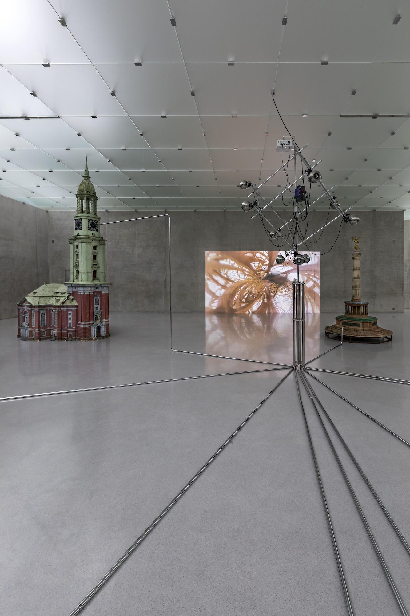 /Rollo/, 2019 Installation view, third floor, Kunsthaus Bregenz, 2019 Photo: Markus Tretter, Courtesy of the artist, © Raphaela Vogel, Kunsthaus  Bregenz