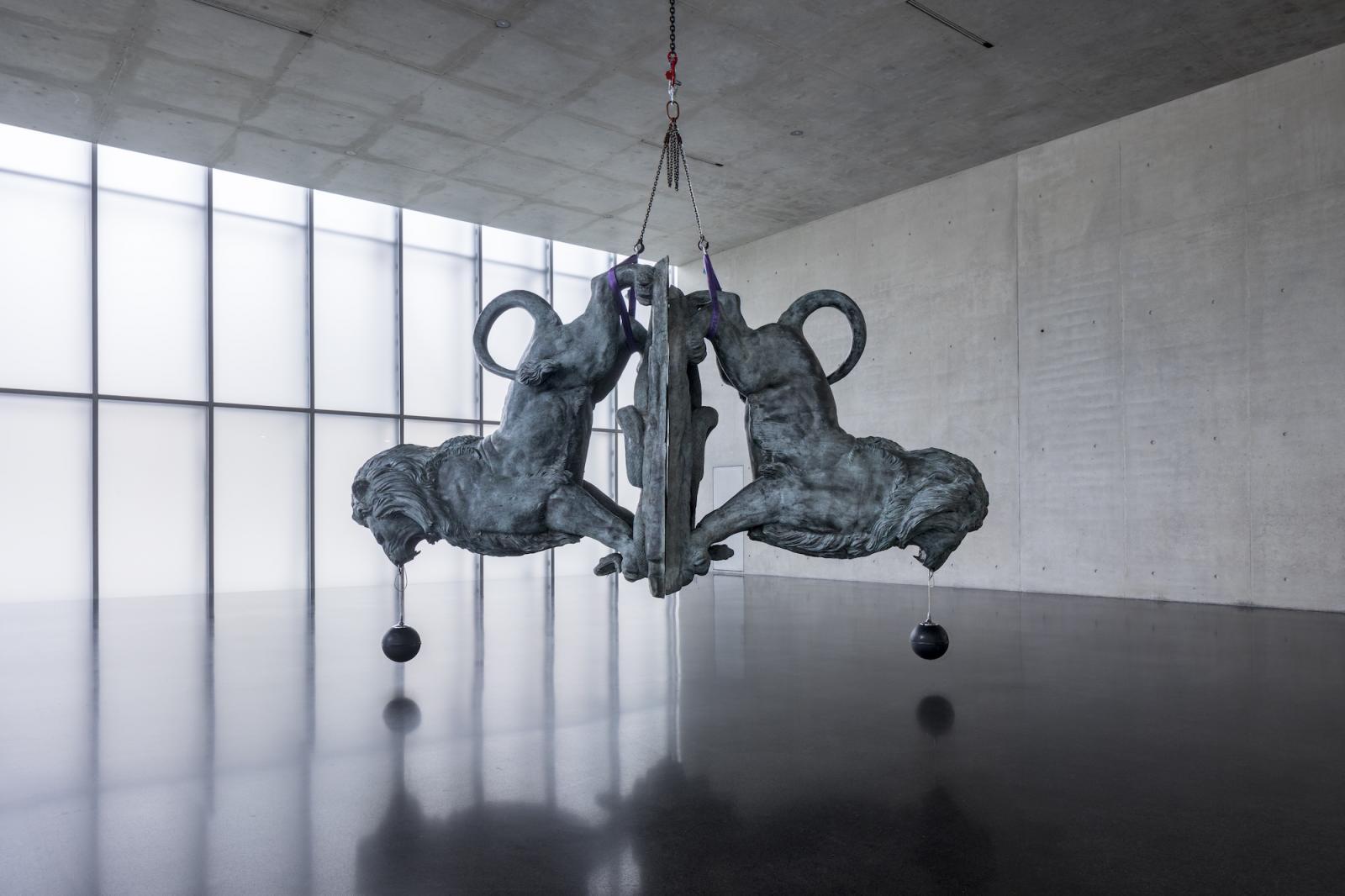 /In festen Händen/, 2016 Installation view, ground floor, Kunsthaus Bregenz, 2019 Photo: Markus Tretter, Courtesy of the artist, © Raphaela Vogel, Kunsthaus  Bregenz