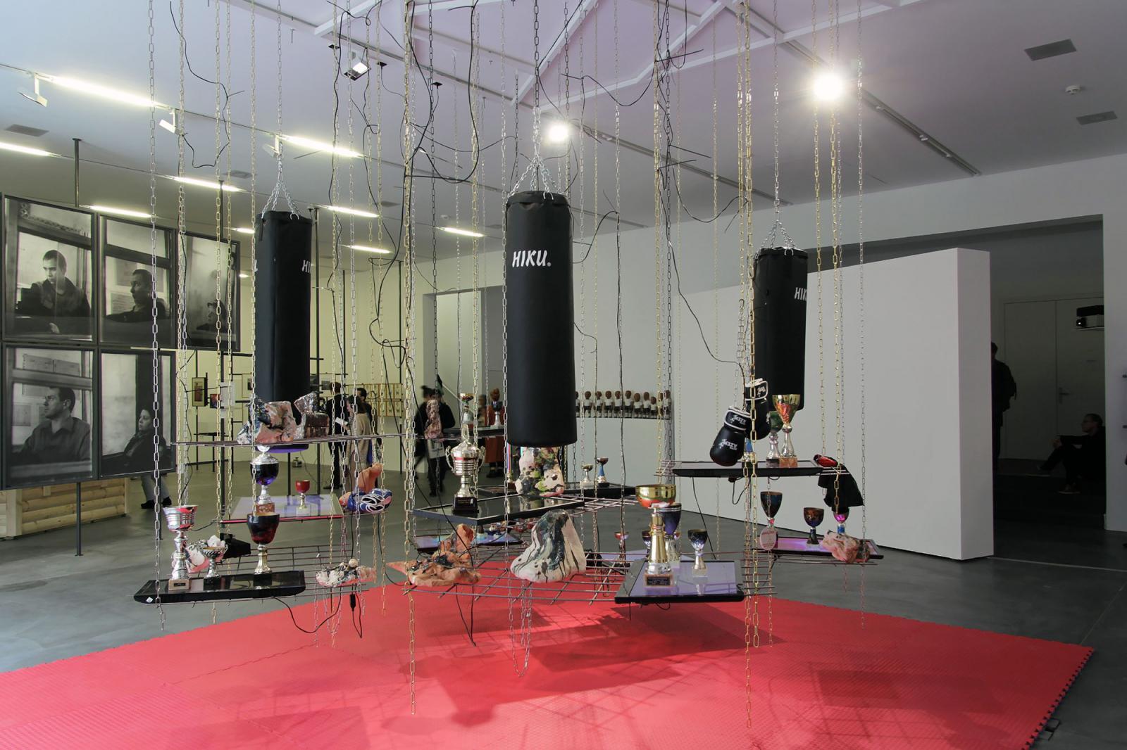 Matyáš Chochola Installation view atLöwenbräukunst Photo: Manifesta 11 / Wolfgang Träger