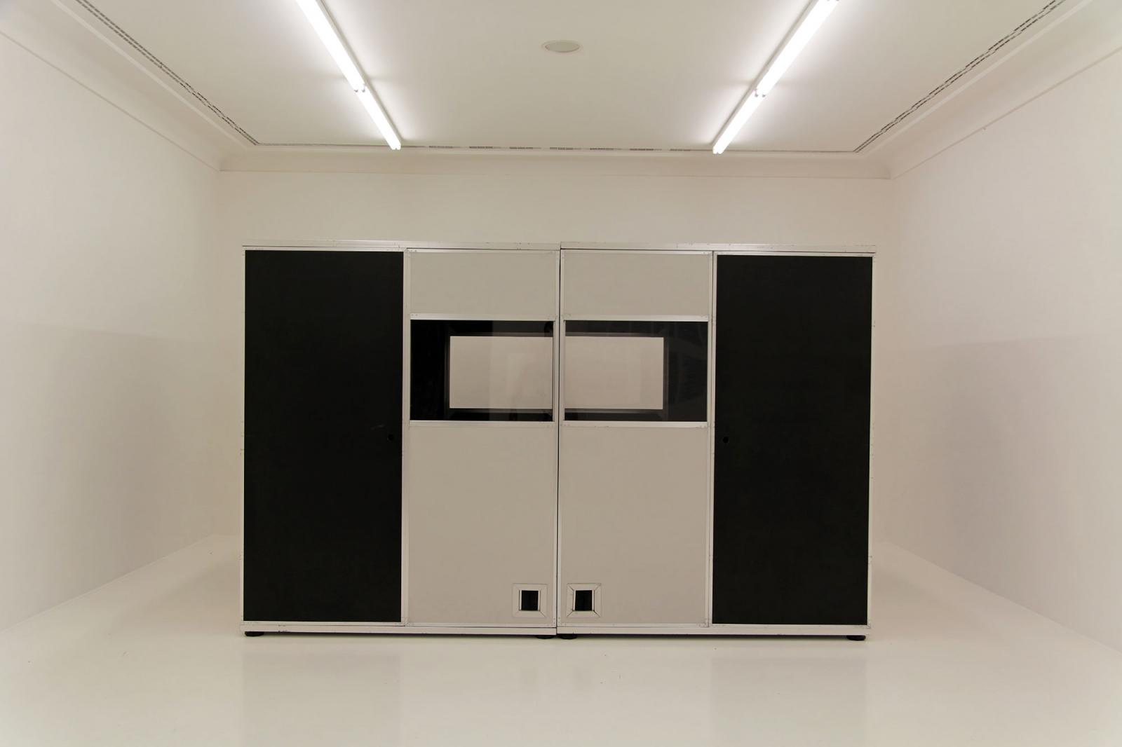 Ceal Floyer Installation view/Romance/ atHelmhaus Photo: Manifesta 11 / Wolfgang Träger