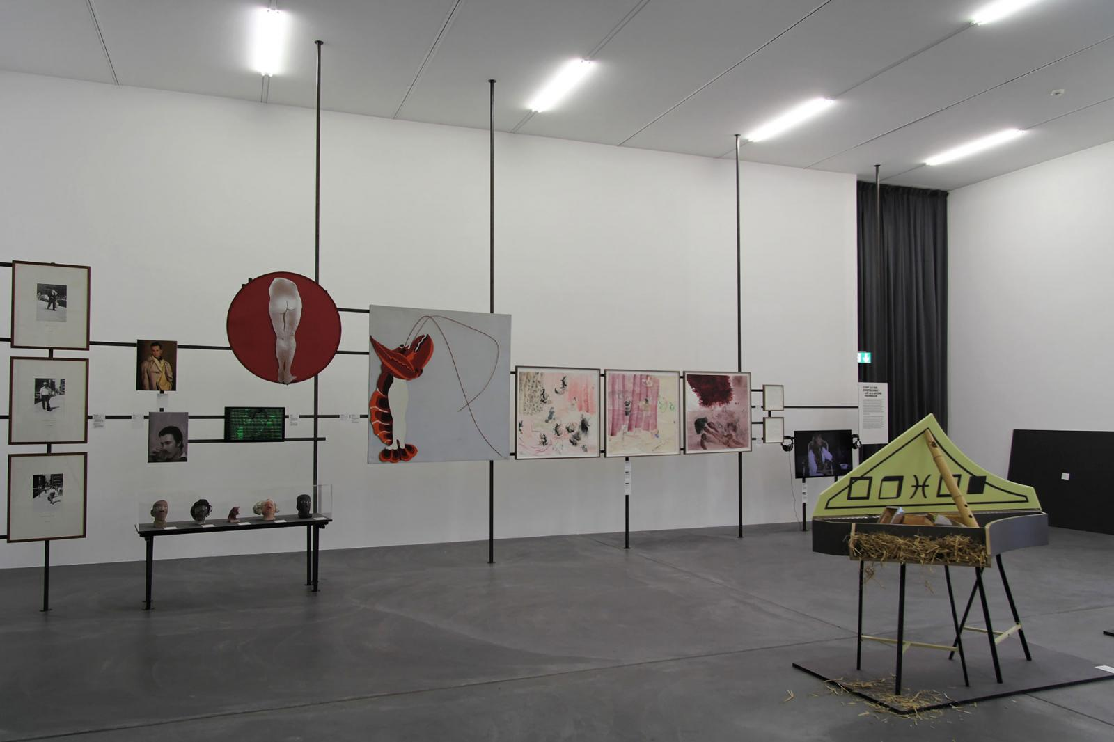 "Installation view ""Art as a Second Profession"" section at Löwenbräukunst Photo: Manifesta 11 / Wolfgang Träger"
