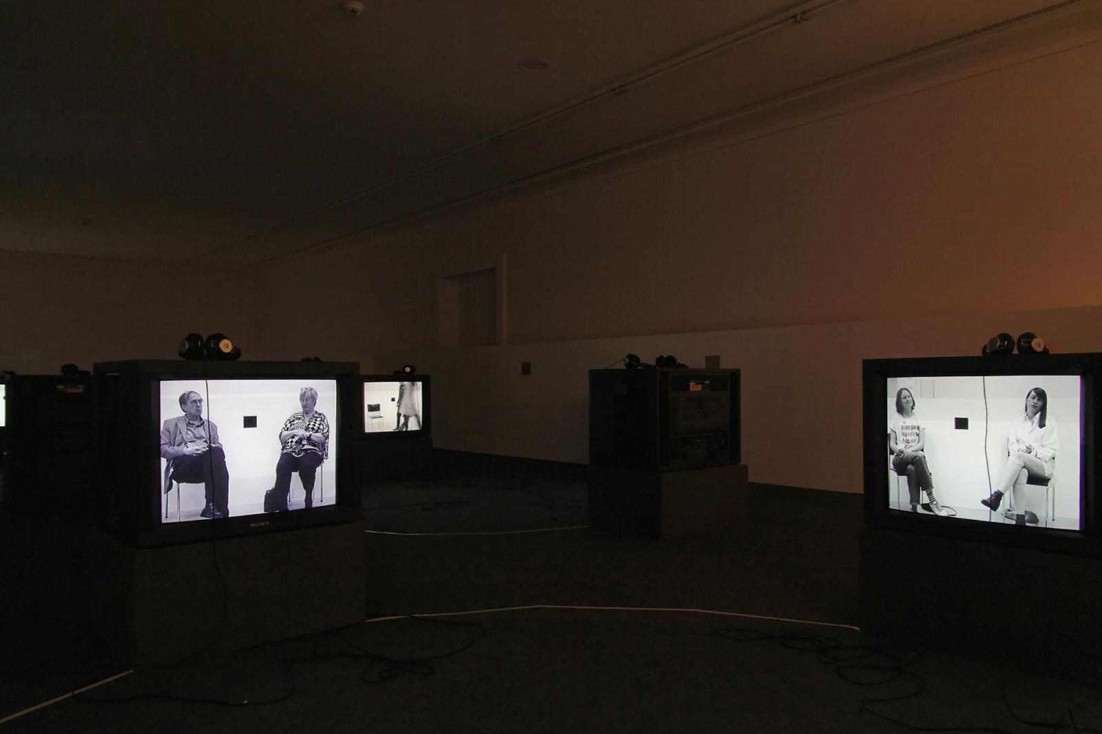 Leigh Ledare Installation view/The Here and the Now/ atHelmhaus Photo: Manifesta 11 / Wolfgang Träger