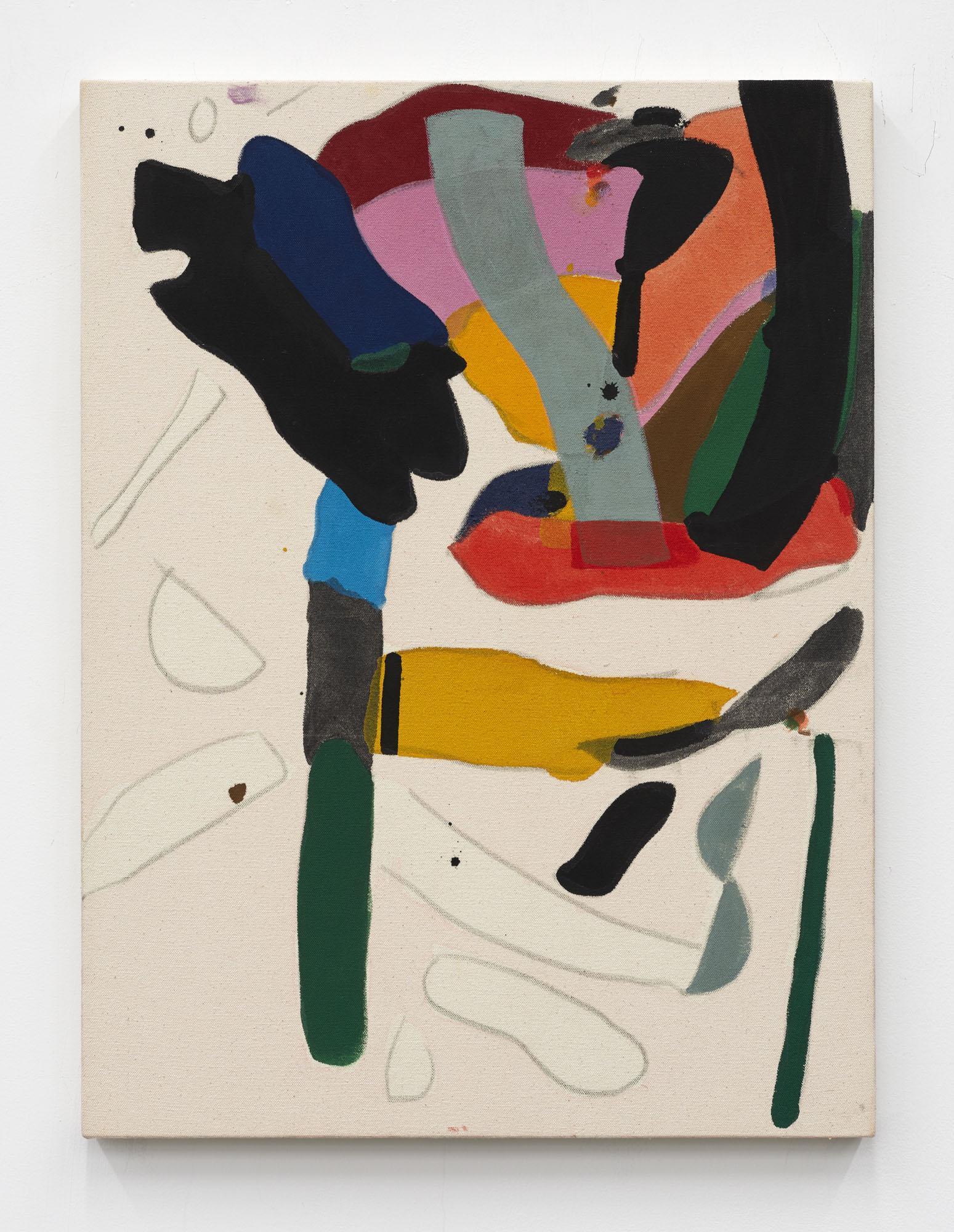 Matt Connors,/Untitled/, 2020, acrylic on canvas, 60.96 × 60.96 cm
