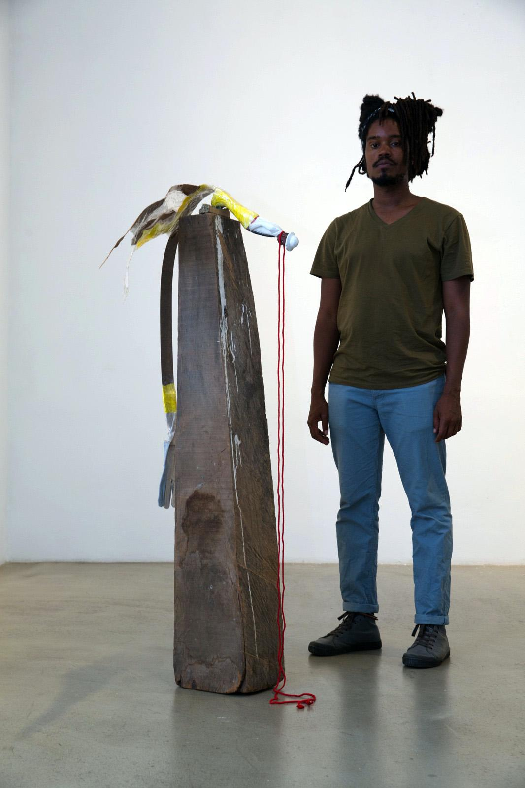 Artist Julien Creuzet Mario Mauroner Galerie curated byLuigi Fassi Photo:eSeL