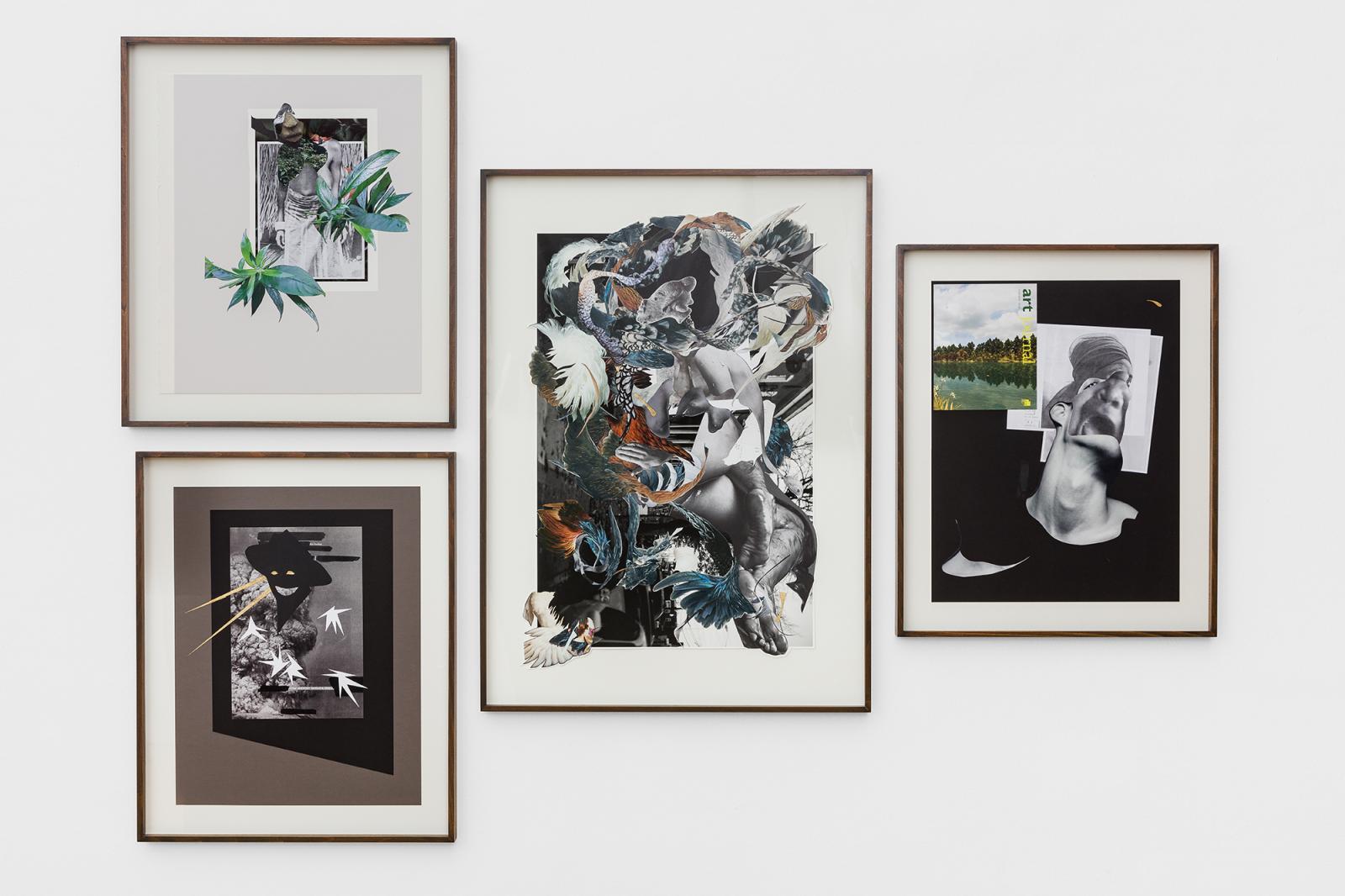 Georg Kargl Fine Arts, curated by Alistair Hicks; Marcia Kure, /For Southern Kaduna I-IV/, 2017 – 2020; courtesy of the artist and Susan Inglett Gallery; © Georg Kargl Fine Arts  Photo kunst-dokumentation.com