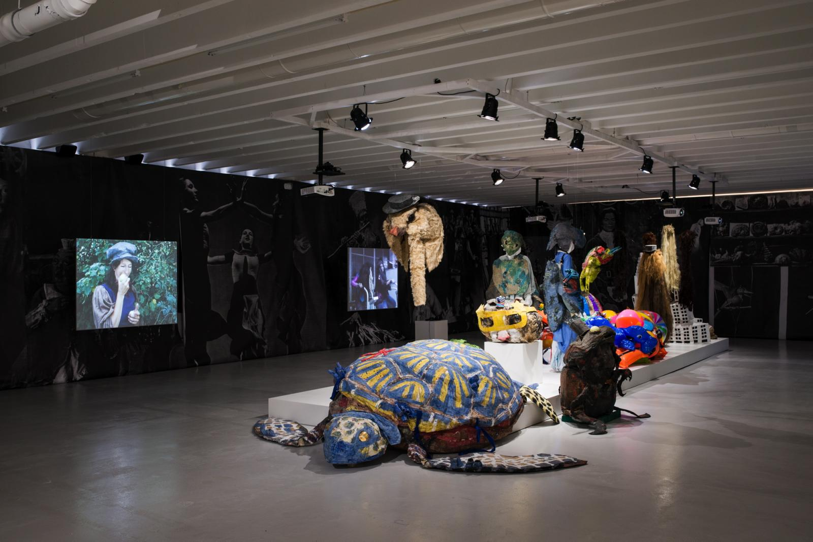 Marvin Gaye Chetwynd /Cocaine & Caviar/ InstallationView, Bergen Assembly 2016 Kunstgarasjen, Bergen Photo: Thor Brødreskift Photo: Thor Brødreskift
