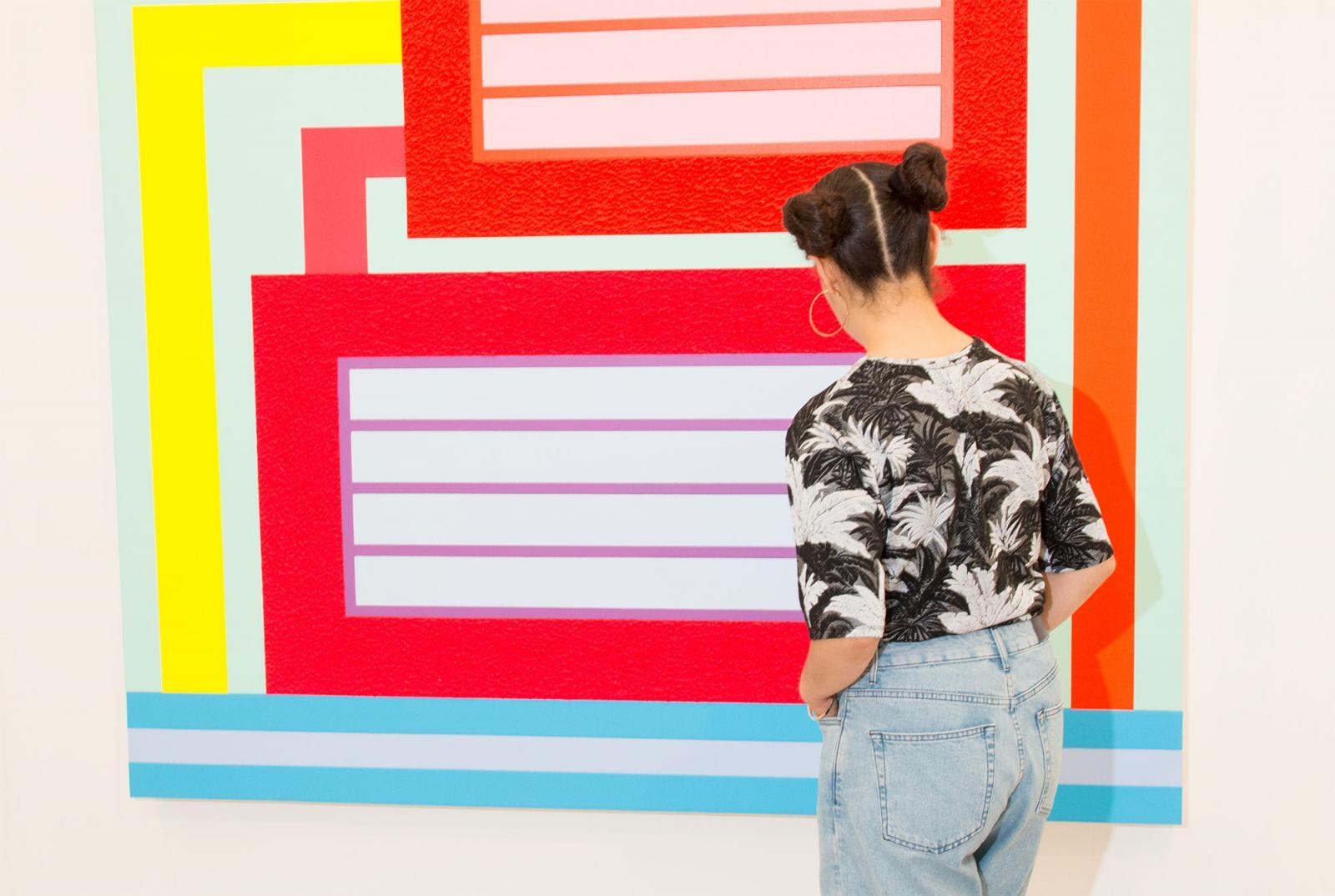 Peter Halley at Stuart Shave /Modern Art