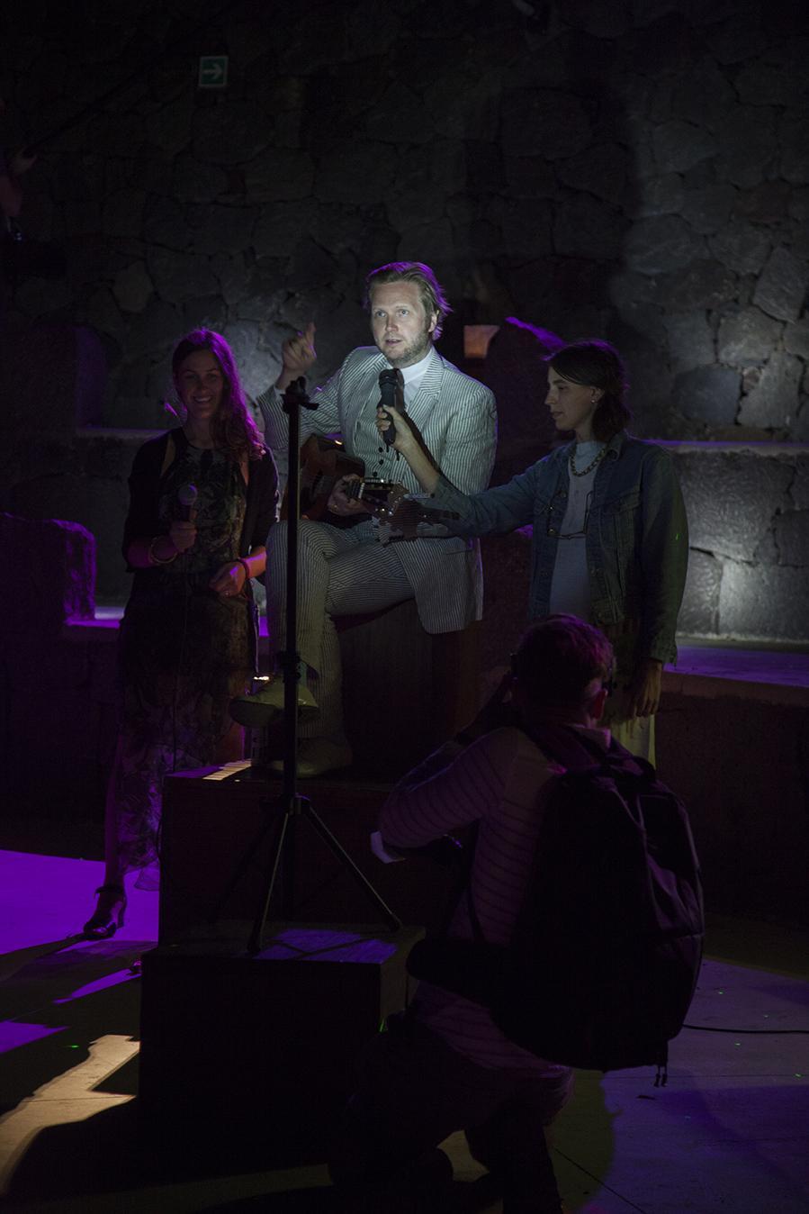 A musical performance by Ragnar Kjartansson on Day 2: /Isolation/ Photo:Giovanna Silva Courtesy Fiorucci Art Trust, London