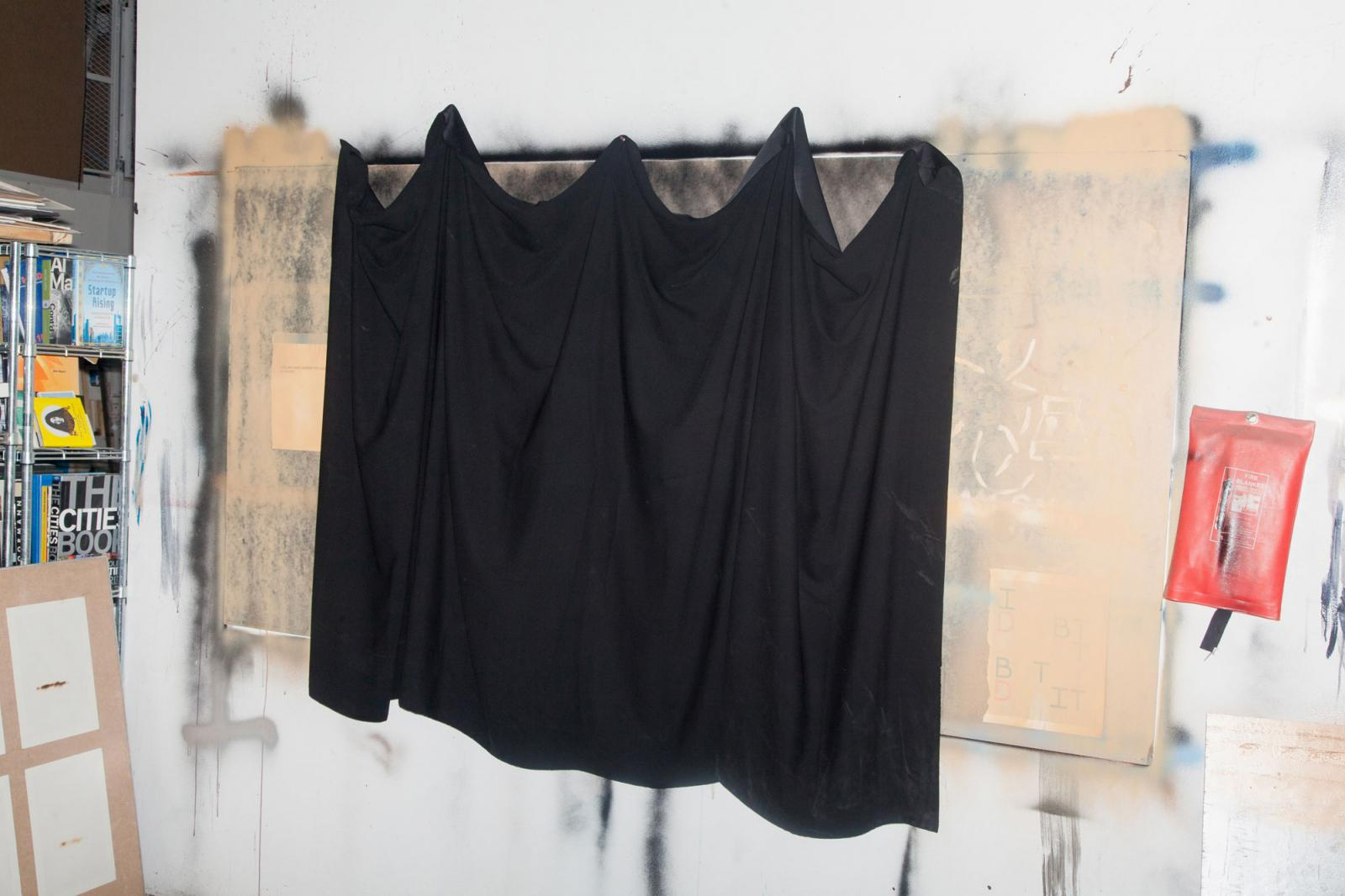 Studio of artist Rami Farook