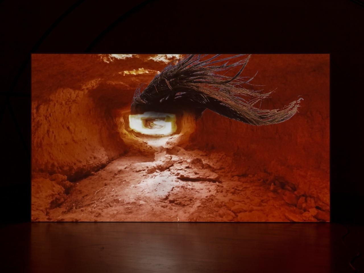 """Raphaela Vogel, """"Son of a witch"""", 2018 Video: colour, sound, 10:30 min."""