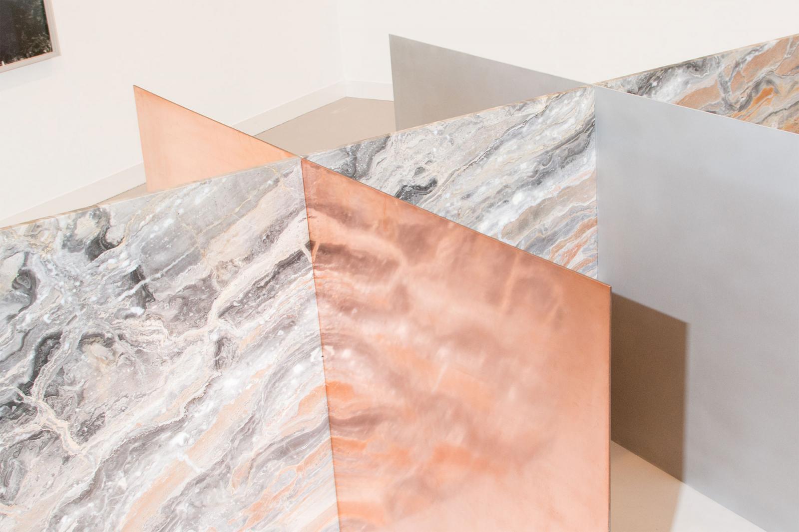 Sam Falls at Galleria Franco Noero