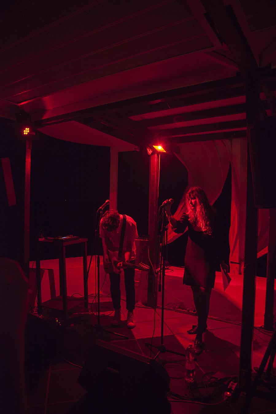 Tempers performance at La Tartana on Day 3: /Maison Absolue/ Photo:Giovanna Silva Courtesy Fiorucci Art Trust, London