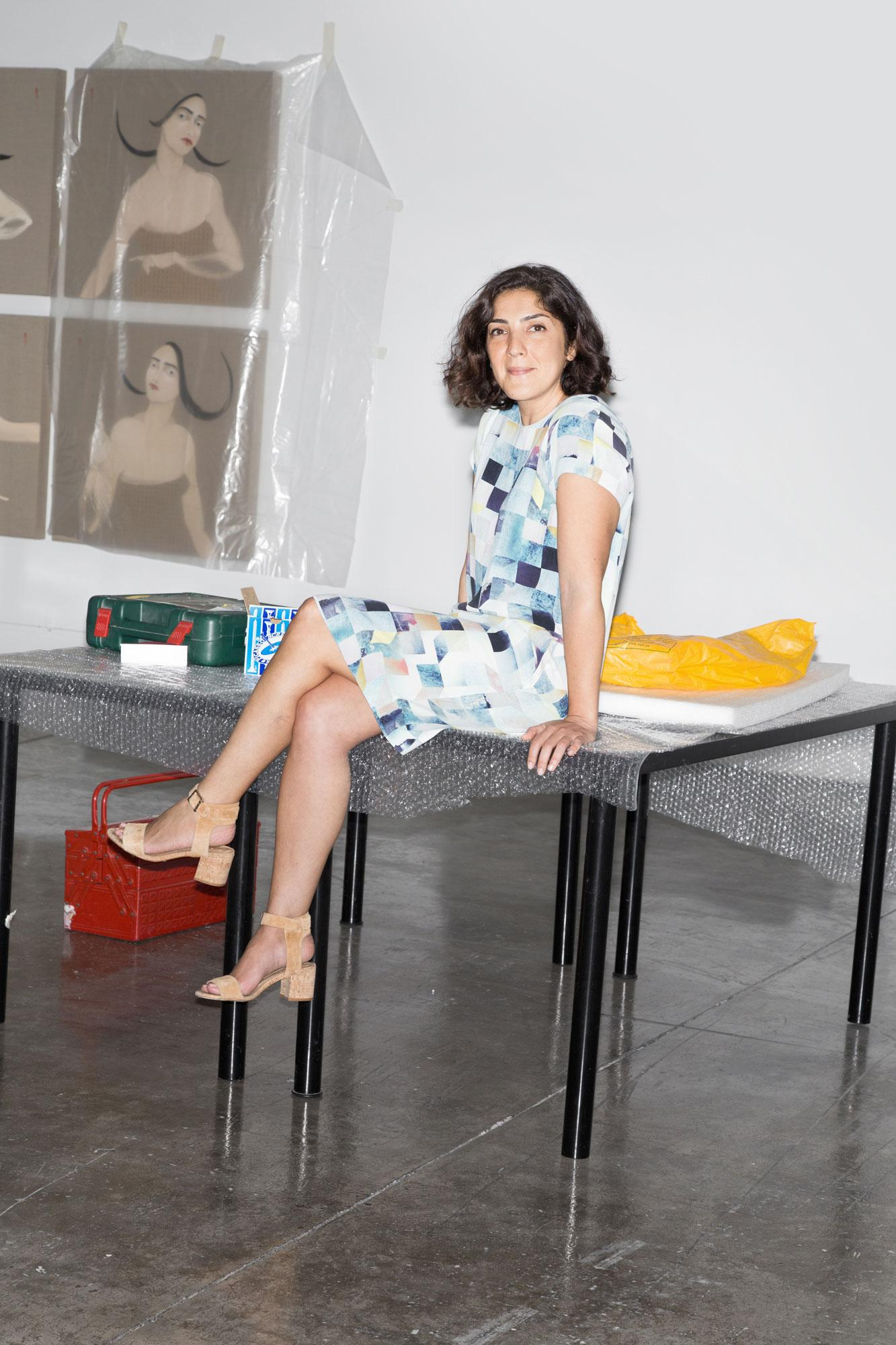 Sunny Rahbar, founder and director of The Third Line gallery