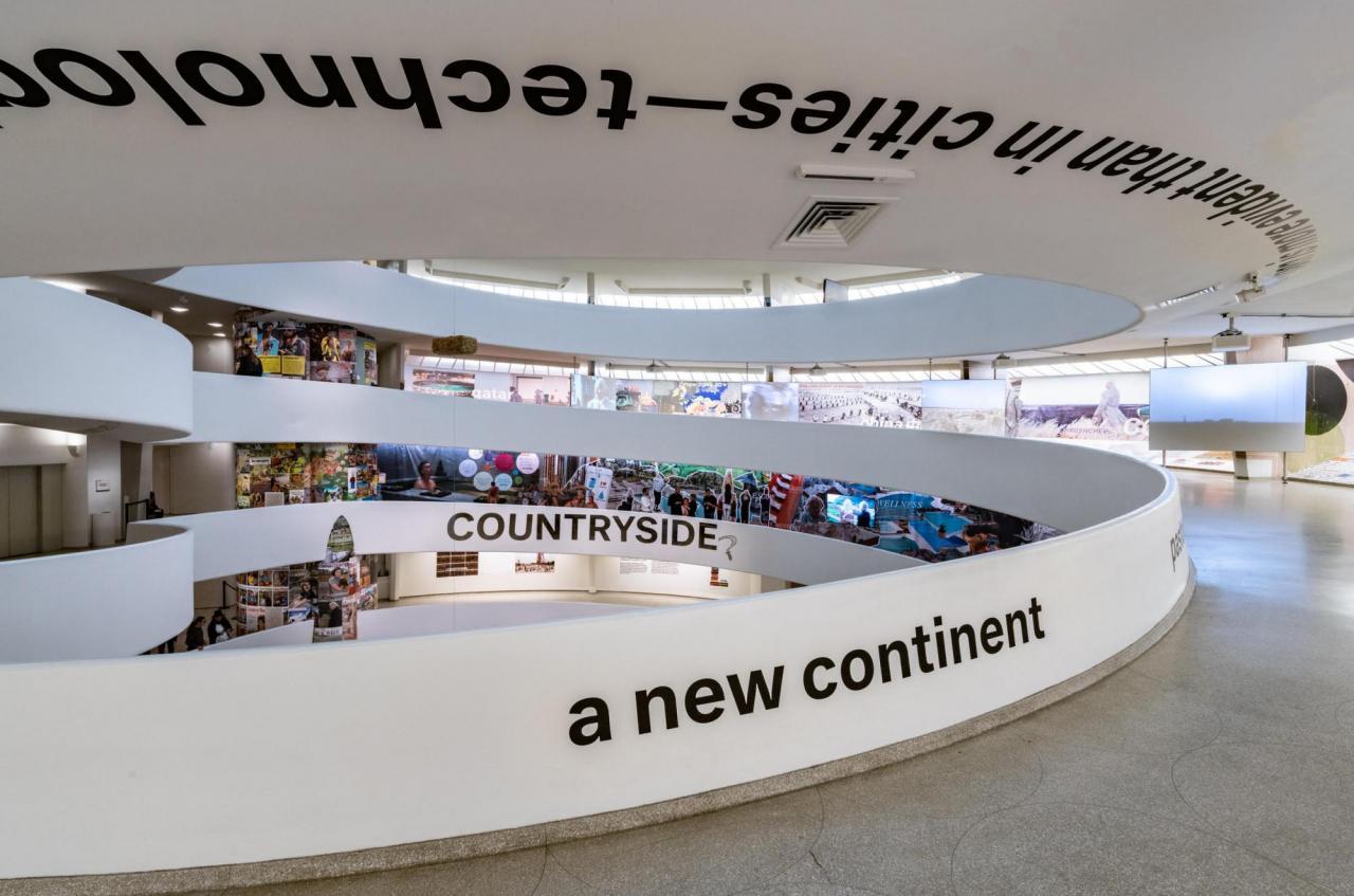 Guggenheim Museum, New York,Countryside: the Future