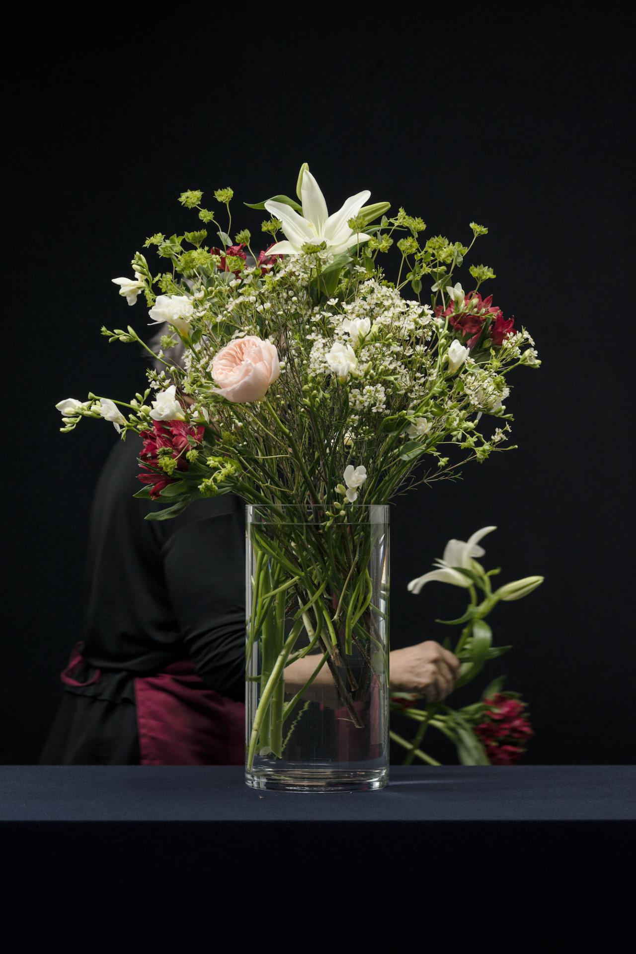 Detail aus Flowers (set 1) (2015)