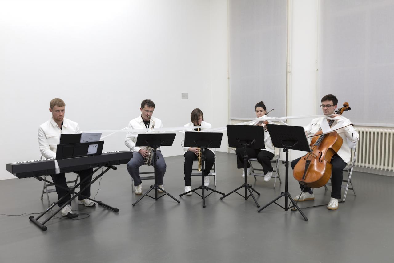 Kunsthalle for Music Composed by Ari Benjamin Meyers Witte de With Center for Contemporary Art, Rotterdam January 25 – March 3, 2018 Courtesy: the artist and Esther Schipper, Berlin;Photo: © Andrea Rossetti