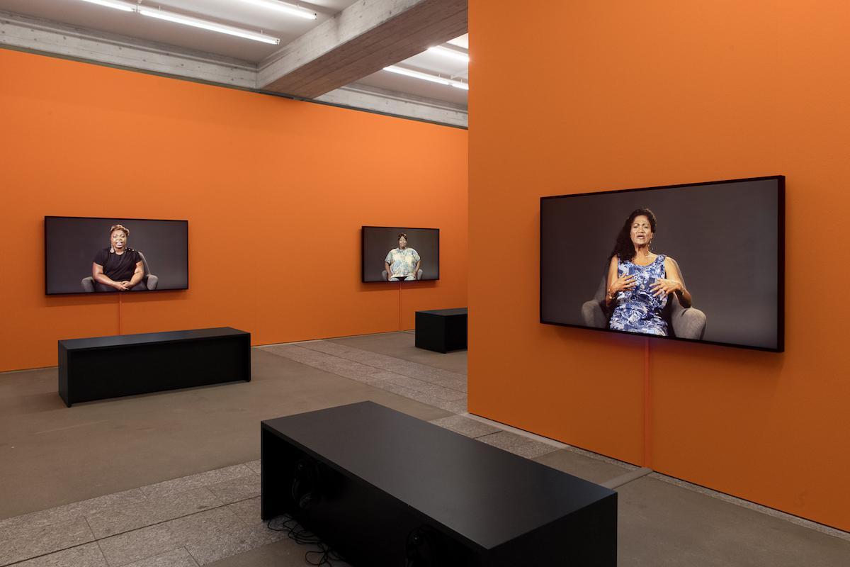 Candice Breitz Installationsansicht St.Gallen