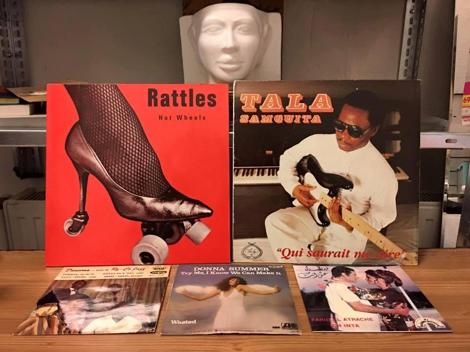 Kader Attia's record collection