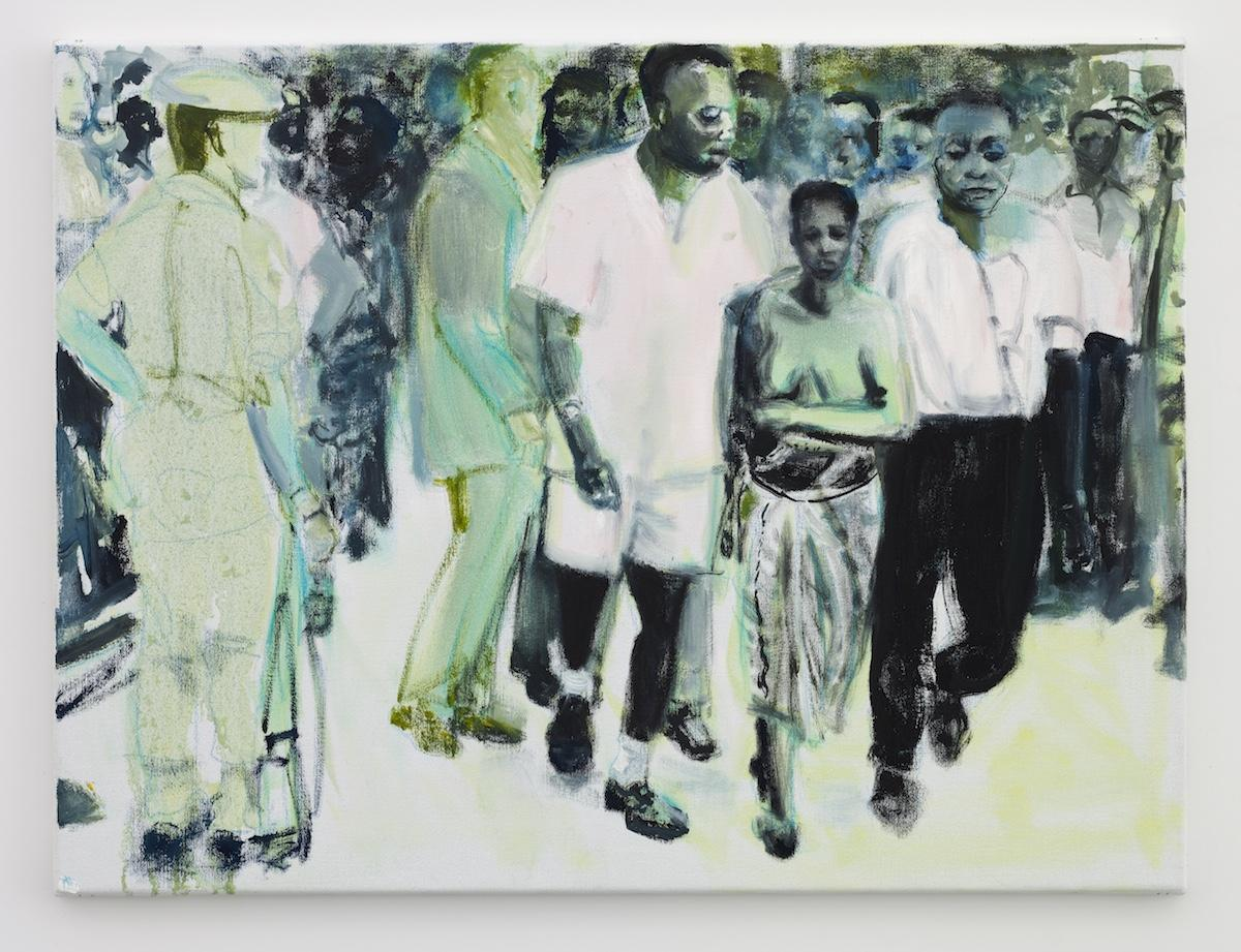 Marlene Dumas The Widow   (2013)