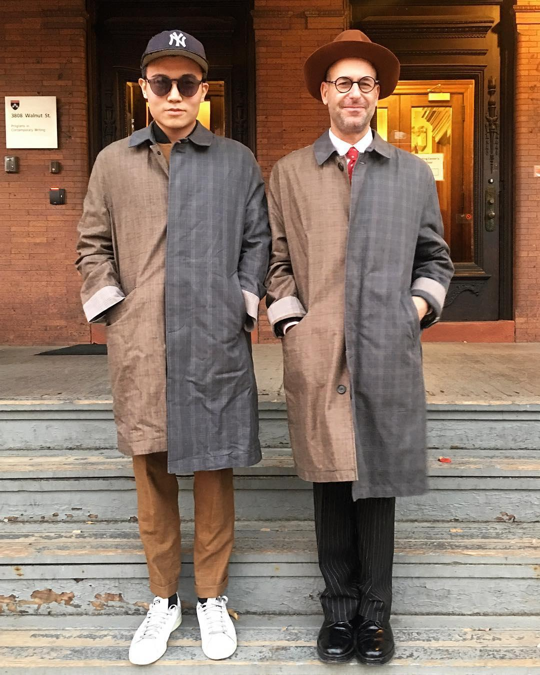 Goldsmith and Michael Xufu Huang. Taken from Instagram @m_woods