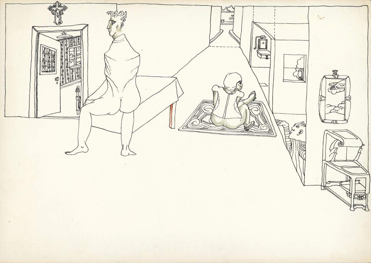 AMVK Verschillende Perspectieven (1975) CourtesyAMVK and Zeno X Gallery Antwerpen;Photo: AMVK