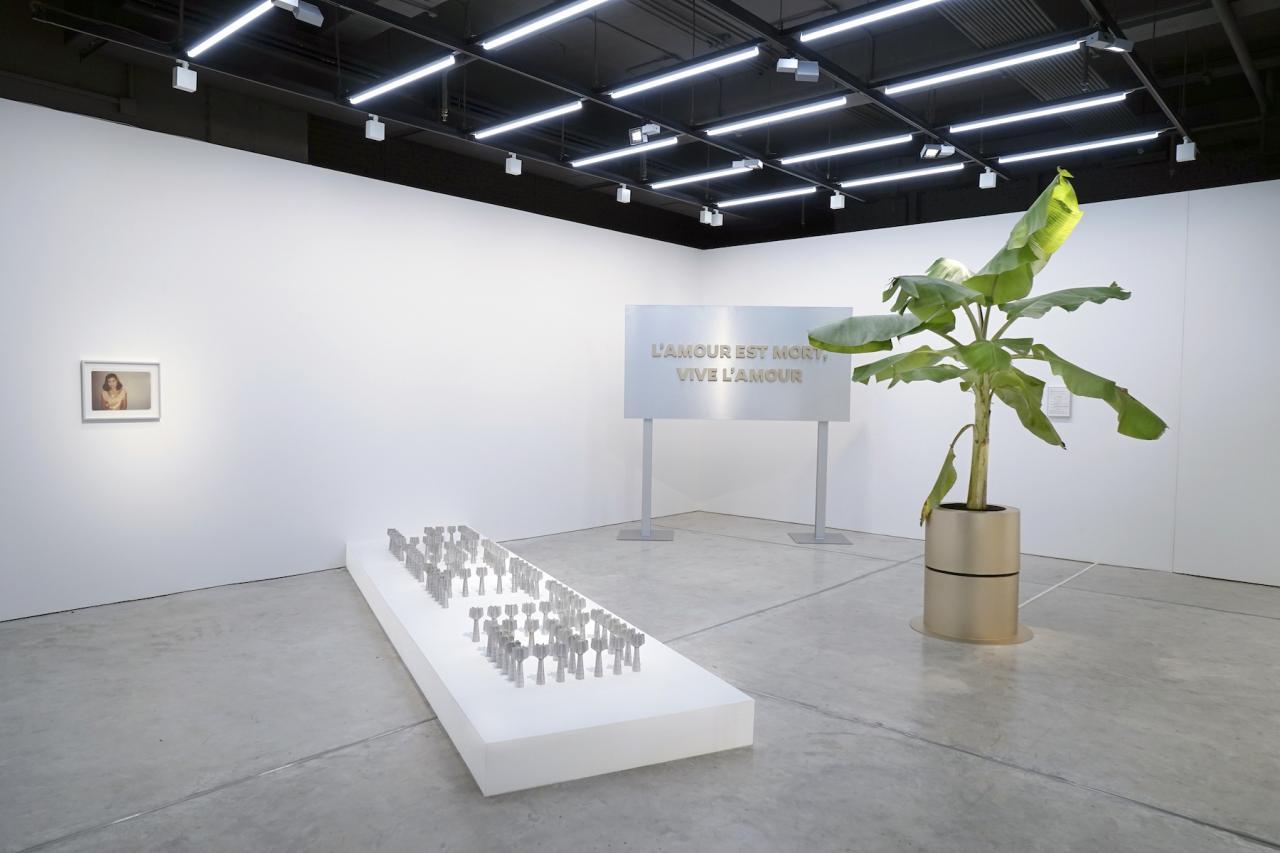 "Chai Siris and Tada Hengsapkul Installation view of ""Under The Same Sky"" (2016) at Nova Contemporary Courtesy of Nova Contemporary"
