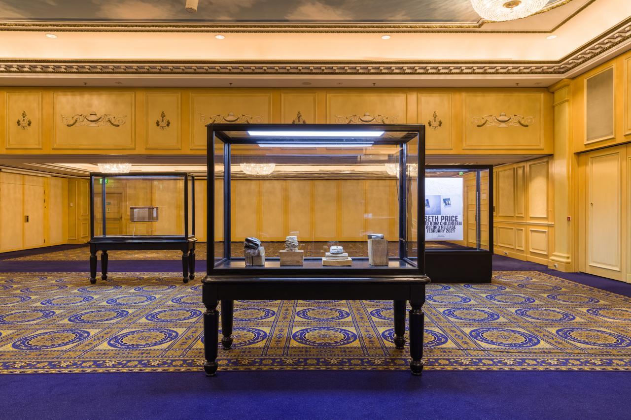 Luisa Gardini; Installation view, ERMES ERMES, INTERCONTI WIEN 2021; Courtesy of the artist and ERMES ERMES; Photo by kunst-dokumentation.com