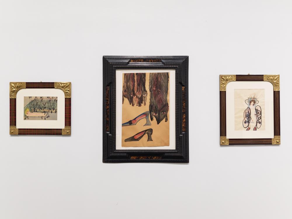 "Carol Rama ""Antibodies"", installation view at the New Museum"