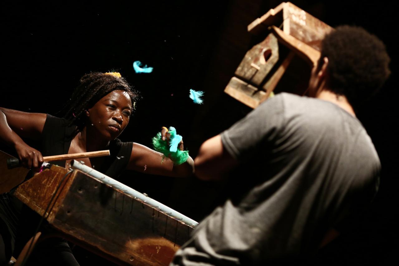 Zanele Muholi Masihambisane - On Visual Activism (2017) A Performa 17 Commission Photo:Paula Court;CourtesyPerforma