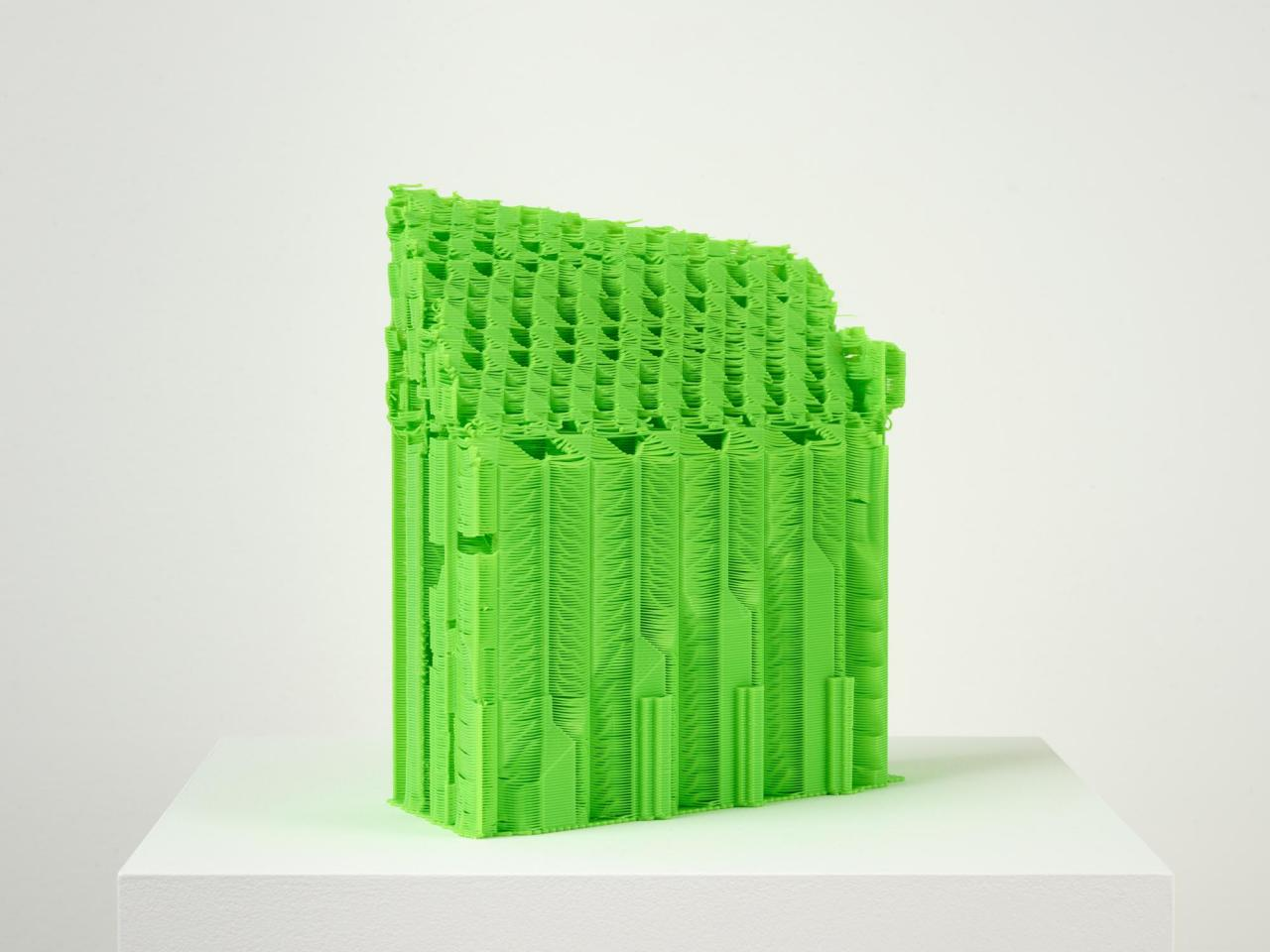 Samson Young, Support Structure # 7 , 2019, 3D-printed nylon, 25x 25x 11cm,© the artist. Courtesy Galerie Gisela Capitain, Cologne and Capitain Petzel, Berlin.