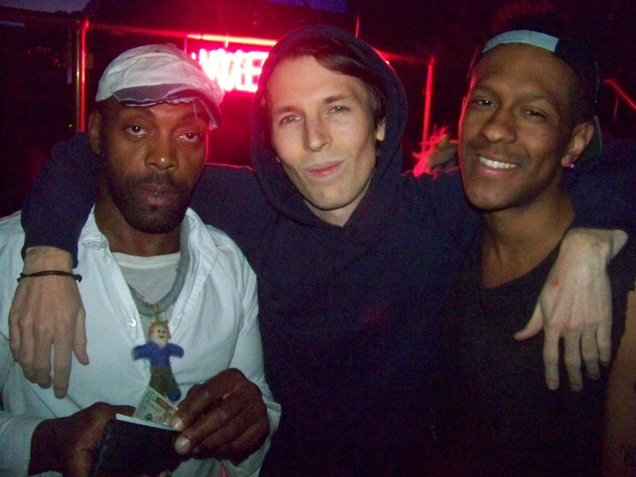Andre Walker, Ryan McGinley and Mykki Blanco, photo© Quentin Belt